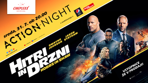 Action night Hitri in drzni: Hobbs in Shaw