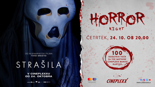 Horror night Strašila