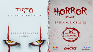 Horror night Tisto: Drugo poglavje